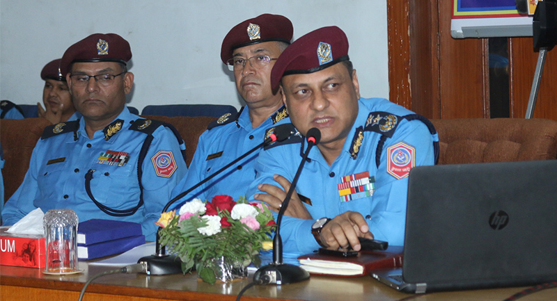 igp sarbendra khanal press meet