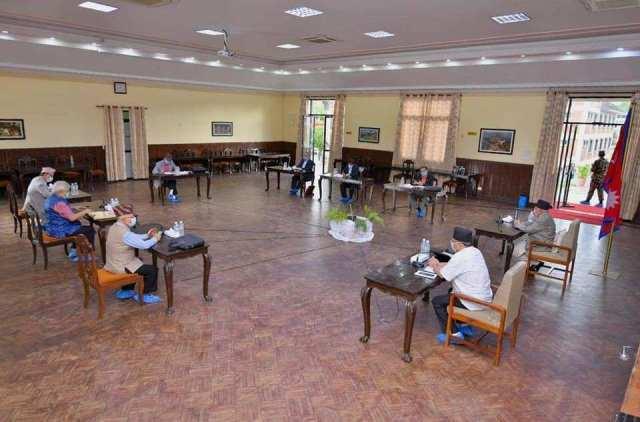 NCP_Secretariat_Meeting_Baluwatar