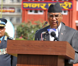 PM Deuba instructs Nepal Police to gear up for poll security arrangements